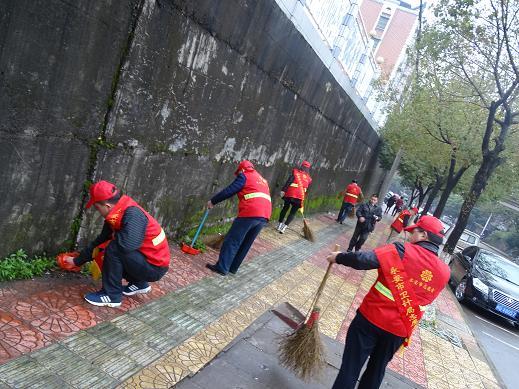 """积极开展""""垃圾不落地61文明好习惯""""志愿服务活动"""